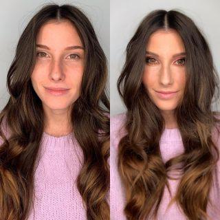 - MAKE UP -  @noemiejacquemard 💜  #beforeafter #makeup #mup #mua #maquillage #avantaprès #makeuptransformation #beautymakeup #beauty #model #modeling #montpellier