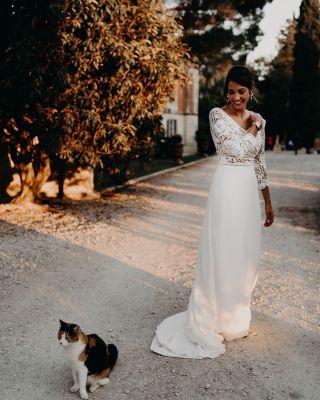 - MARIAGE -  @caly2308 🤍 Photo par @laurene_and_the_wolf  Coiffure par @marioncarpentiercoiffure  Au @masdarvieux  Robe @clementineiacono Wedding Planner @lesdemoisellesdemadame  #mariage #wedding #makeup #weddingmakeup #bridemakeup #bride #beauty #maquillagemariee #maquillage #masdarvieux #tarascon #mua #mup #bride2020
