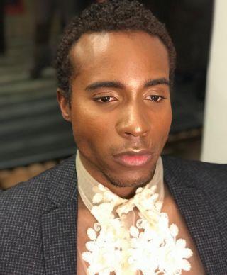 - BACKSTAGE -  #manmakeup #glow #glowy #edito #fashion #style #mode #backstage #man #makeup #mup #mua #mufe #highlighter #fondation #blackman #highlights #blackmakeup #studio #photo #photography #instamakeup #montpellier #france