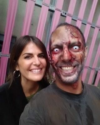 - TOURNAGE -  Tournage avec @kprodz pour le clip d'OPTM #cestbientothalloween #zombie #tournage #clip #music #kprodz #prod #video #makeup #fx #specialeffects #effetsspeciaux #mup #mua #maquillagemontpellier #nimes #france #halloweenmakeup #halloween
