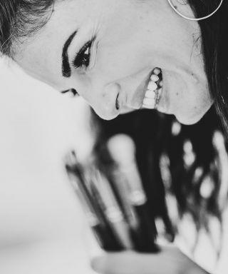 - BEFORE WEDDING -  #lovemyjob #smiling #vousmemanquez #brushes #brush #makeup #makeupartist #mua #maquilleuse #maquilleusemontpellier #wedding #summer #happiness #job #montpellier #nimes #france